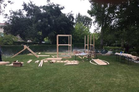 Swing Set Assembly & Installation